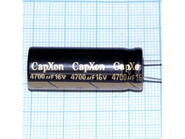 Конд.4700/16V 1335+105°С CapXon