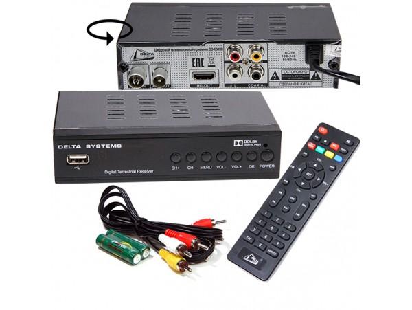 Delta DS-650HD ресивер эфирный DVB-T2