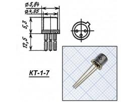 КТ203Б (Uкэ=30В; h21э=30-150)