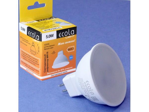 Лампа 220V 5W GU5.3 MR16 4000 Pulsar св/д