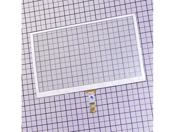 Тачскрин для GPS 65х105 шлейф снизу, по центру 20мм.