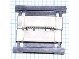 Коннектор 2 pin шт=шт. жесткий 2P-2P 8mm