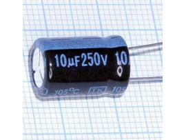 Конд.10/250V 1016 +105°C