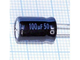 Конд.100/50V 0812 +105°C JAM