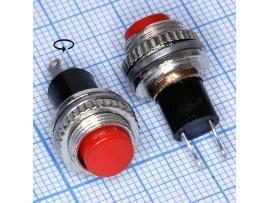 DS-314 красная 125V/3A кнопка нормально разомкнутая