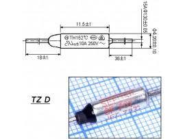 TZ D-073-15А Термопредохранитель