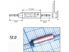 TZ D-085-10А Термопредохранитель