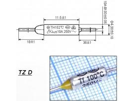 TZ D-100-10А Термопредохранитель