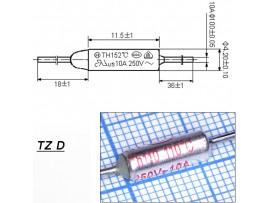 TZ D-110-10A Термопредохранитель