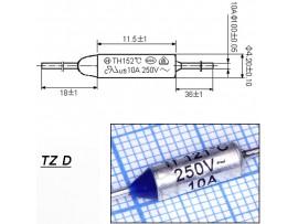 TZ D-121-10A Термопредохранитель