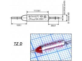 TZ D-152-15A Термопредохранитель