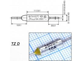 TZ D-170-10A Термопредохранитель