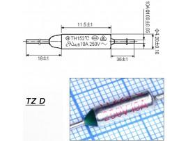 TZ D-229-10А Термопредохранитель