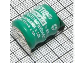 Аккумулятор 3,6V/60 3pin Столб2(3*d=16;h=6) NIMH