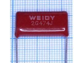 Конд.0,47/400V К73-17 аналог
