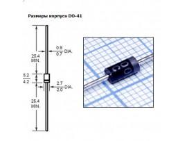 1N4005 (600V;1A) Диод