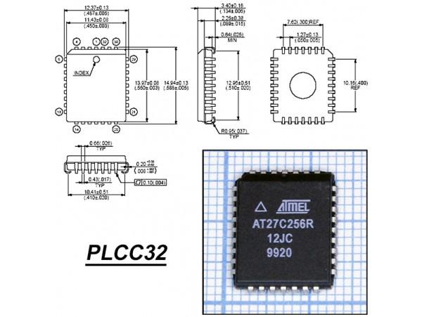 27C256R-12JC