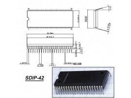 PCA84C641P/068 (S1) = CTV322S-V2.0