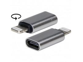 Data-кабель USB microUSB to Lightning зарядный кабель
