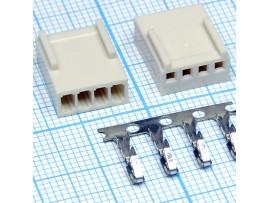PW10-04F 2.5 розетка 4к.на кабель