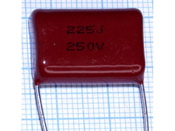 Конд.2,2/250V К73-17 аналог (CL-21)