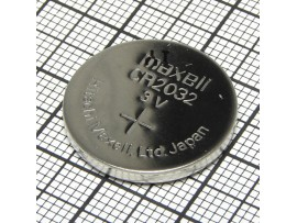 CR2032 Батарея 3V Maxell (без выводов)