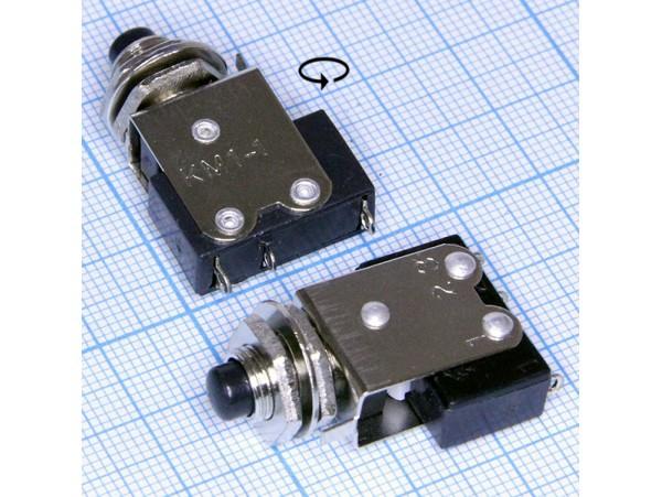 КМ1-1(КМД1-1) Кнопка черная аналог