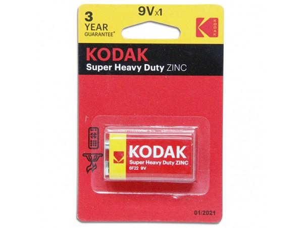 Батарея 9V 6F22 Kodak