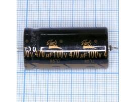 Конд.470/100V 1836 (аксиал)