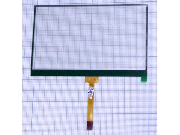 Тачскрин 66х103 шлейф снизу, по центру 46мм (4,5