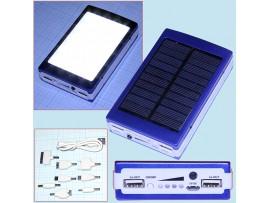 Smart Power Bank ЗУ на солнечных батареях + фонарь