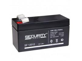 Аккумулятор 12V/1,2Ah SF12012 97х43х53 мм Security