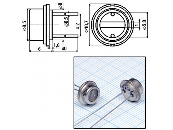 ФР1-3-150кОм Фоторезистор