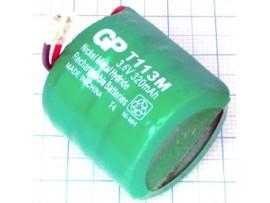 Аккумулятор 3,6V/320Столб.4(3*d=25;h=9)GP NIMH(T113M)