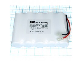Аккумулятор 6V/800 T-112 (5*d=14;L=48)