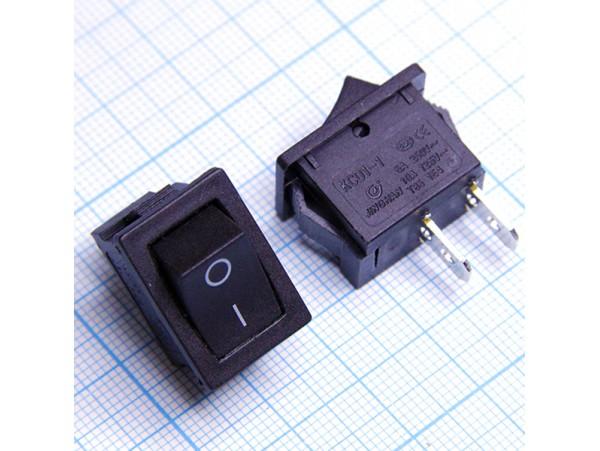 SC-768 перекл. сет. 6A/250V черный 2pin