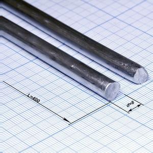Припой d=8,0 ПОС-61 пруток L=400, 170 гр