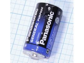 Элемент питания 1,5V R14 PANASONIC