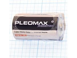 Элемент питания 1,5V R20 PLEOMAX