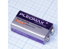 Батарея 9V 6F22 PLEOMAX