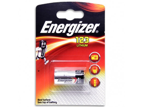 CR123A Батарея 3V Energizer (d=17;L=34)