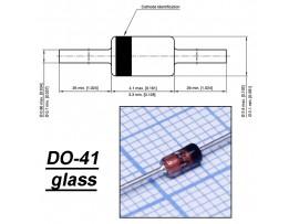 1N4746A (Стабил. 18V/1W) стекло
