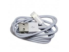USB кабель для iPhone 5/6/7 белый 1м  REXANT