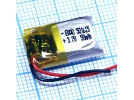 LP501015 Аккумулятор 3.7V/50mAh Li-POL