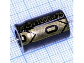 Конд.1000/25V 1321 (аксиал)