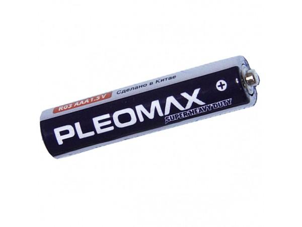 Элемент питания 1,5V R03 PLEOMAX
