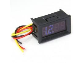 RI082 Вольтметр DC 0...200 В Синий