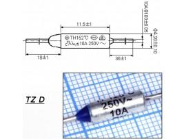 TZ D-128-10A Термопредохранитель