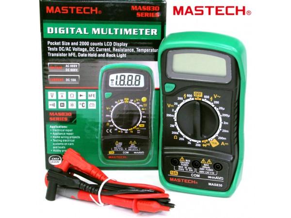 MAS830 мультиметр (Mastech)