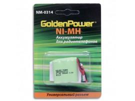 Аккумулятор 3,6V/300 (3*d=10;h=28) NIMH (T314/P-P320)